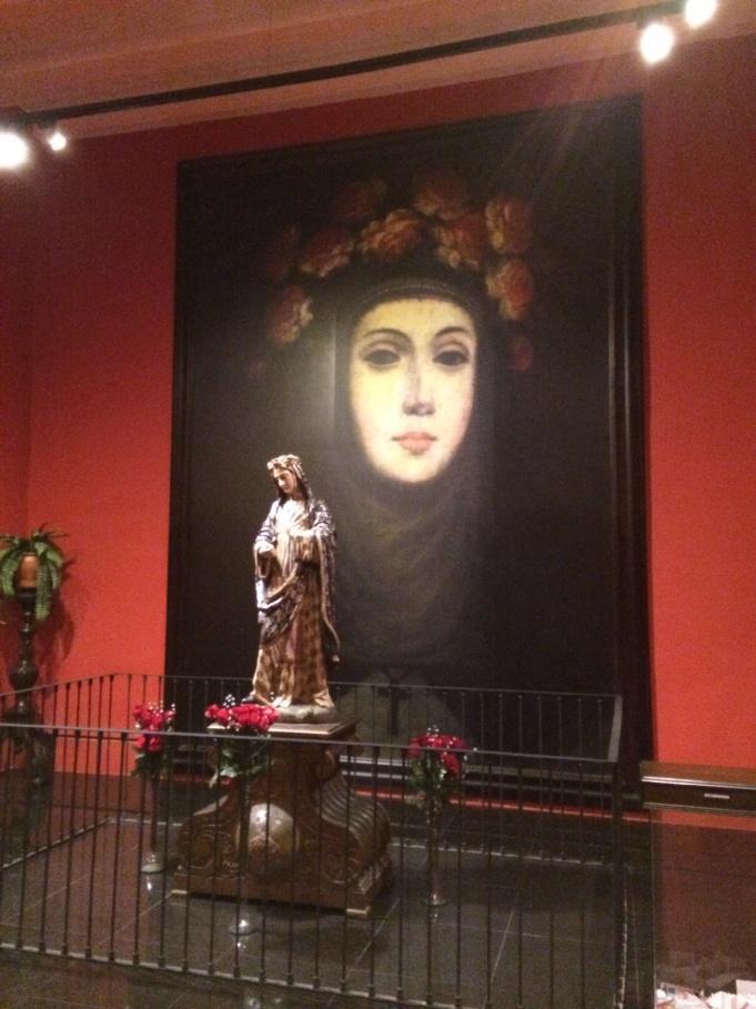 The first South American Saint,  Santa Rosa de Lima